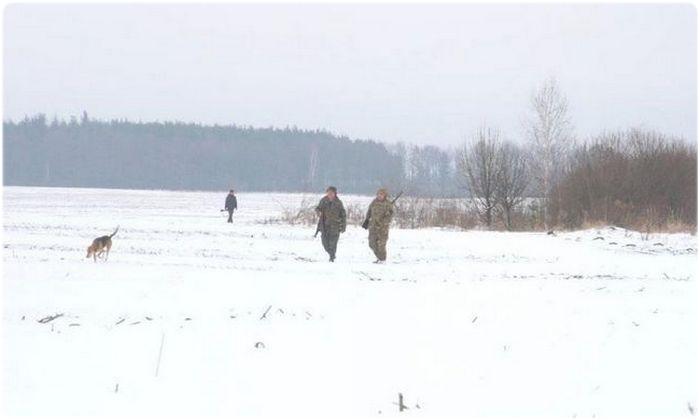 Охота по первому снегу
