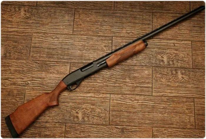 Помповое ружье Ремингтон 870
