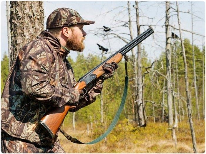 Для охоты в лесу ружье с короткими стволами