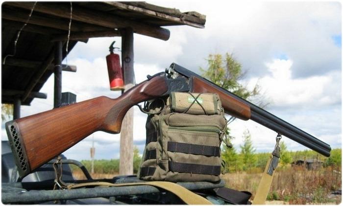 Ружье ИЖ 27 на охоте