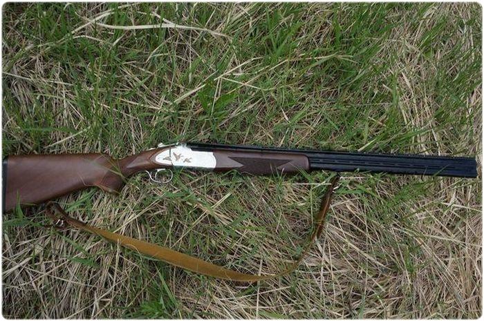 С ружьем Huglu на охоту