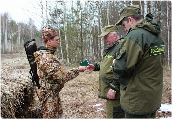Охотнадзор проверяет документы