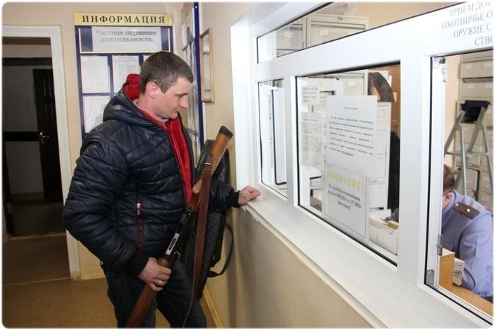 Оформление купли-продажи оружия в ЛРО