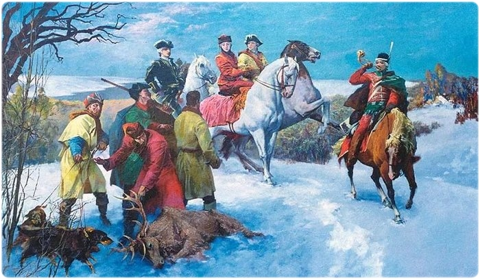 Охота в Древней Руси